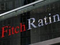 File photo of the Fitch Ratings headquarters in New York