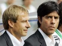 Joachim Löw, Jürgen Klinsmann, Jogi Löw, Bundestrainer, Deutsche-Fußball-Nationalmannschaft, DFB