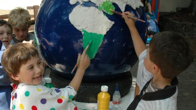 Kinder und Astronomie
