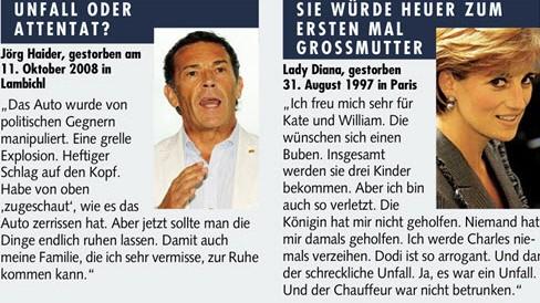 Jörg Haider im Interview der Kronen-Zeitung
