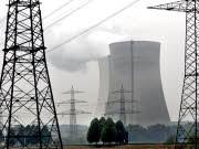 AKW Atomkraftwerk Philippsburg bei Karlsruhe Reaktor abgeschaltet, ddp
