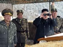 Nordkorea: Diktator Kim Jong Un spielt Psycho-Krieg