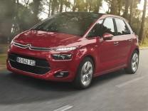 Citroën C4 Picasso, Citroën, Citroën C4, Kompaktvan, VW Touran