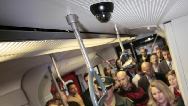 Videoüberwachung in Münchner S-Bahnen