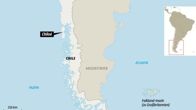 Chile Patagonien Karte.Auf Der Insel Chiloe In Patagonien Sprungbrett Ins