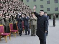 Kim Jong Un Nordkorea Konflikt