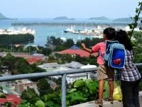 Offshore-Leaks, Victoria, Hafen, Seychellen