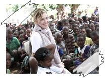 Madonna, Hilfsprojekt, Malawi