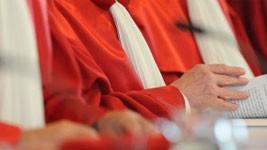 Bundesverfassungsrichter in Karlsruhe, dpa