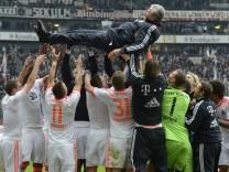 FC Bayern München, Fußball Bundesliga, Jupp Heynckes, Deutscher Meister, Eintracht Frankfurt