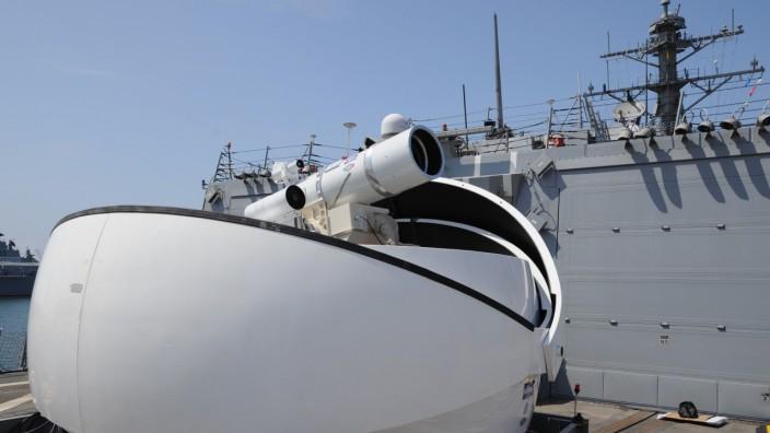 Laserkanone der US Marine