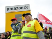 Warnstreik bei Amazon Bad Hersfeld