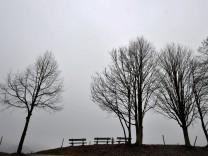 Trübes Wetter am Tegernsee