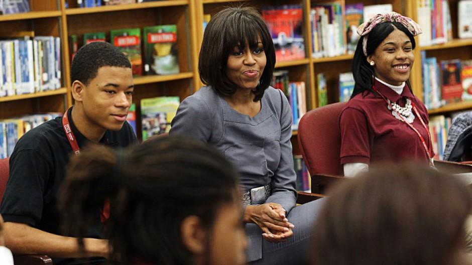 US-Blog Michelle Obama über Waffengewalt