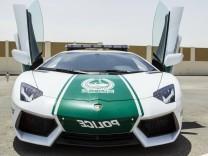 Polizei in Dubai Lamborghini