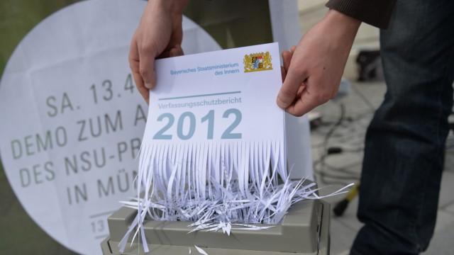 Demo gegen bayerischen Verfassungsschutzbericht 2012