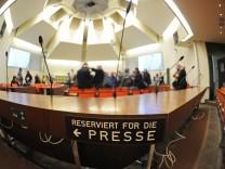 Gerichtssaal für den NSU-Prozess