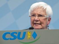 CSU stellt Bundestagsliste auf