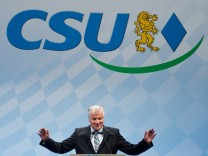 CSU, Horst Seehofer