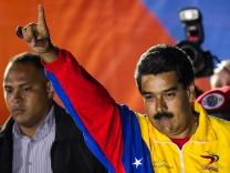Nicolas Maduro, Venezuela, Präsident, Wahl