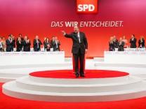SPD-Bundesparteitag in Augsburg, Peer Steinbrück