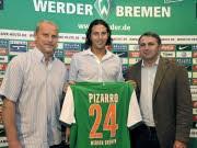 Pizarro, Rückkehr Bremen, dpa