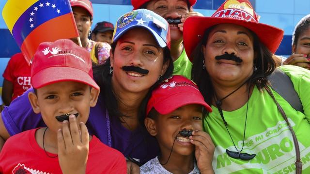 Nicolas Maduro Stilkritik zu Nicolás Maduro