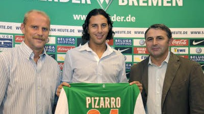 Bundesliga Werder Bremen: Pizarro kommt