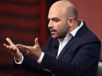 Italian journalist Roberto Saviano