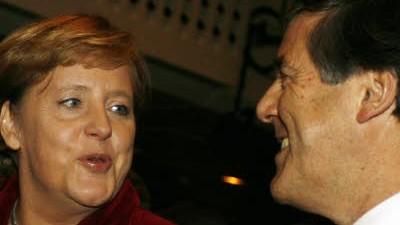 Ackermann und Merkel