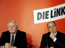 Oskar Lafontaine Linke Linkspartei Comeback