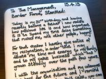 Kündigungs-Kuchen von Chris Holmes