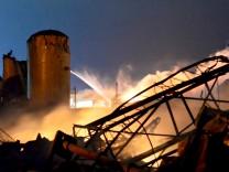 Düngemittelfabrik Texas USA Waco Explosion
