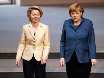 Ursula von der Leyen, Angela Merkel, CDU, Frauenquote