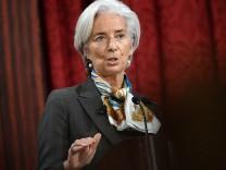 Christine Lagarde muss sich als ehemalige französische Finanzministerin bald in Paris vor Gericht verantworten.