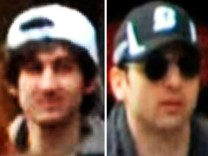 Handout photo of suspect in Boston Marathon shooting