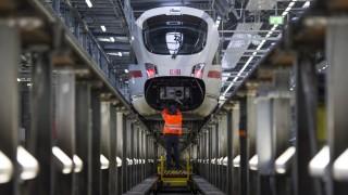 Wintervorbereitungen bei der Deutschen Bahn