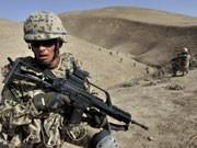 Schwieriger Einsatz: Deutsche Soldaten - hier bei einer Gefechtsübung in Afghanistan; ddp