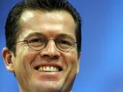 CSU Wirtschaftsminister Karl Theodor zu Guttenberg beliebtester Politiker Deutschlands, ddp