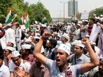 Proteste nach Vergewaltigung in Indien