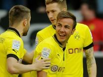Mario Götze, Borussia Dortmund, BVB - FSV Mainz 05 Fußball Bundesliga