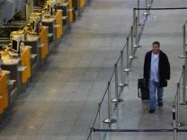 Warnstreik bei Lufthansa am Montag
