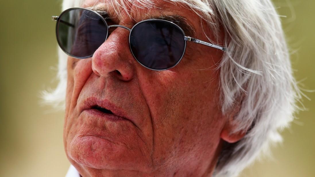 Bernie Ecclestone kurz vor Schmiergeld-Anklage
