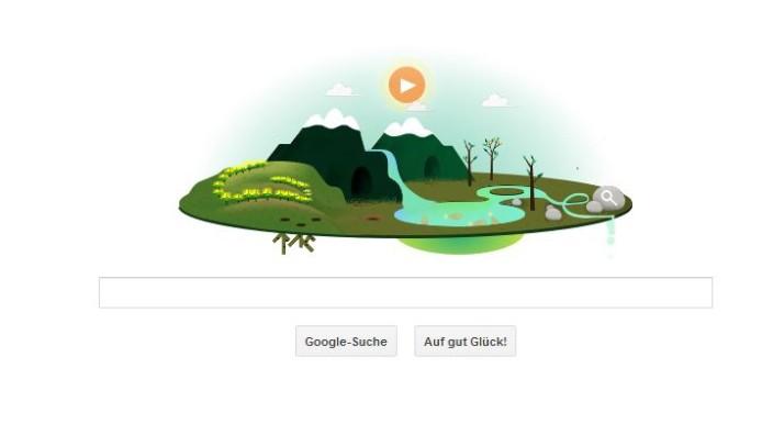 Google Doodle Tag der Erde 2013 Earth Day