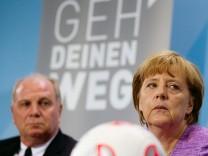 Merkel und Hoeneß
