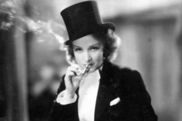 "Marlene Dietrich in \""Marokko\"", 1930"