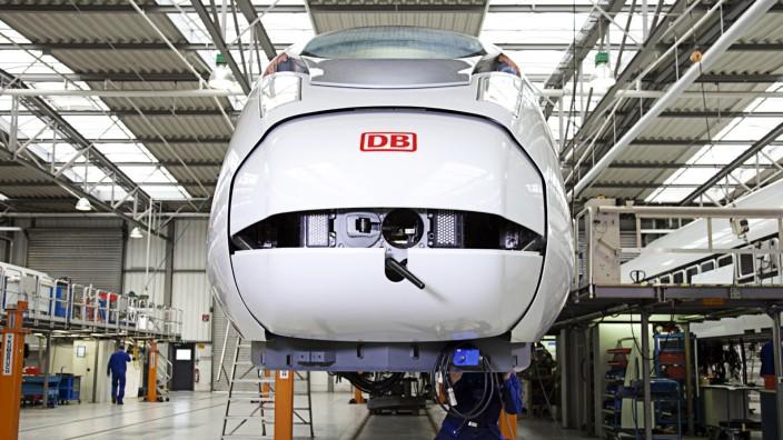 ICE Siemens, Deutsche Bahn