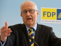Rainer Brüderle, FDP, FDP-Bundestagsfraktion, Mindestlohn