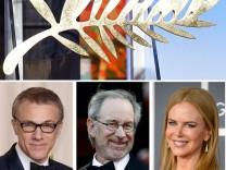 Christoph Waltz, Nicole Kidman und Steven Spielberg