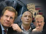 Wiedeking, Wulff, Hück, dpa, ddp, AFP
